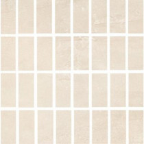 ELIANE Cityscape T-1000 Grand Neutral 12 in. x 12 in. x 8 mm Glazed Porcelain Mesh-Mounted Mosaic Tile