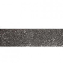 Daltile Metal Effects Illuminated Titanium 3 in. x 13 in. Porcelain Surface Bullnose Floor and Wall Tile-DISCONTINUED