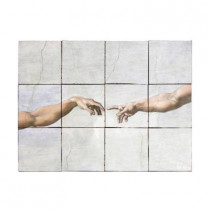 Tile My Style The Fall 24 in. x 18 in. Tumbled Marble Tiles (3 sq. ft. /case)