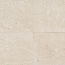 Daltile Natural Stone Collection Botticino Semi Classico 12 in. x 12 in. Marble Floor and Wall Tile (10 sq. ft. / case)
