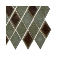 Splashback Tile Roman Selection Basilica Diamond Glass Floor and Wall Tile Sample