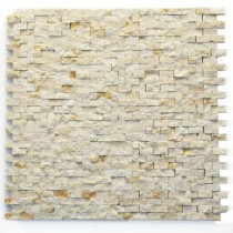 Solistone Modern Still Life 12 in. x 12 in. x 9.5mm Marble Natural Stone Mesh-Mounted Mosaic Wall Tile (10 sq. ft./ case)
