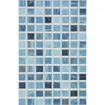 PORCELANOSA Eidos 12 in. x 8 in. Oceano Ceramic Tablet Mosaic Wall Tile