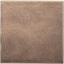 Weybridge 4 in. x 4 in. Cast Metal Field Classic Bronze Tile (8 pieces / case) - Discontinued