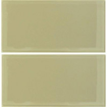 Epoch Architectural Surfaces Desertz Sahara-1424 Glass Subway Tile - 6 in. x 12 in. Tile Sample-DISCONTINUED