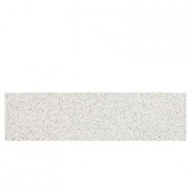 Daltile Colour Scheme Arctic White Speckled 3 in. x 12 in. Porcelain Floor and Wall Tile