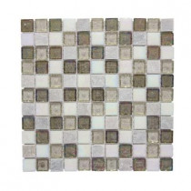 Jeffrey Court Fall Opal Cut-Edge 12 in. x 12 in. x 6 mm Glass Quartzite Mosaic Wall Tile