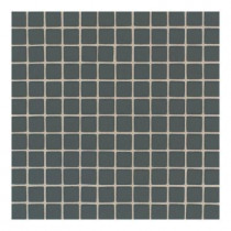 Daltile Maracas Evergreen 12 in. x 12 in. x 8 mm Frosted Glass Mesh-Mounted Mosaic Wall Tile