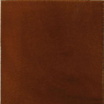 Solistone Hand Painted Ceramic Russet 6 in. x 6 in. x 6.35 mm Red Wall Tile (2.5 sq. ft./case)