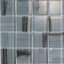 EPOCH Brushstrokes Peltro-1505-3 Mosaic Glass Mesh Mounted - 4 in. x 4 in. Tile Sample-DISCONTINUED