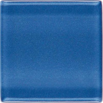 Daltile Isis Polo Blue 12 in. x 12 in. x 3 mm Glass Mesh-Mounted Mosaic Wall Tile