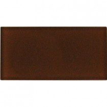 MS International Cinnamon 6 in. x 12 in. Glass Wall Tile