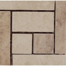 Emser 4 in. x 4 in. Coliseum #20 Glazed Porcelain Floor Listello Corner -Each-DISCONTINUED
