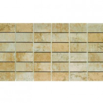 U.S. Ceramic Tile Argos 13 in. x 24 in. Beige Porcelain Mesh-Mounted Mosaic Tile-DISCONTINUED