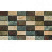 U.S. Ceramic Tile Argos 13 in. x 24 in. Porcelain Mesh-Mounted Mosaic Tile-DISCONTINUED