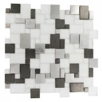 Splashback Tile Pattern 12 in. x 12 in. x 8 mm Mosaic Floor and Wall Tile