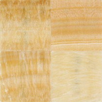 Daltile Natural Stone Collection Honey 12 in. x 12 in. Onyx Floor and Wall Tile (10 sq. ft. / case)
