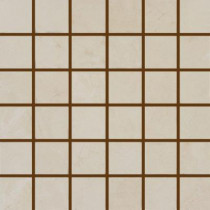 MS International Castillo Beige 12 in. x 12 in. x 10 mm Porcelain Mesh-Mounted Mosaic Tile