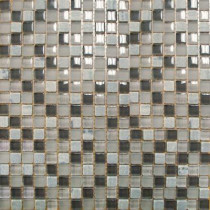 MS International Arctic Cloud 12 in. x 12 in. x 8 mm Glass Stone Mesh-Mounted Mosaic Tile (10 sq. ft. / case)