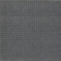 Elementz 12.8 in. x 12.8 in. Venice Gray Smoke Glossy Glass Tile-DISCONTINUED
