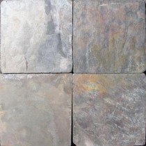 MS International Multi Color 6 in. x 6 in. Tumbled Slate Floor and Wall Tile (1 sq. ft. / case)