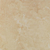 U.S. Ceramic Tile Fresno Beige 16 in. x 16 in. Ceramic Floor & Wall Tile-DISCONTINUED