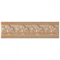 U.S. Ceramic Tile Fresno 2-3/4 in. x 10 in. Beige Ceramic Selma Listel Wall Tile-DISCONTINUED