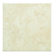 Daltile Brazos Cream 12 in. x 12 in. Ceramic Floor and Wall Tile (15.49 sq. ft. / case)-DISCONTINUED