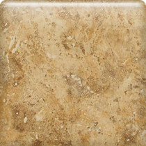 Daltile Heathland Amber 6 in. x 6 in. Glazed Ceramic Bullnose Wall Tile