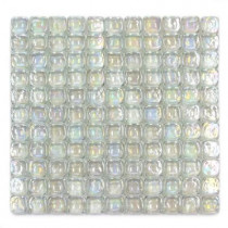 Solistone Pillow Glass Opal 12 in. x 12 in. x 9.5mm Glass Mosaic Wall Tile (10 sq.ft./Case)