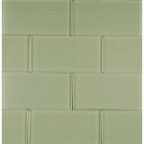 EPOCH Riverz Okavango-1453 Glass Subway Tile 3 in. x 6 in. (5 Sq. Ft./Case)-DISCONTINUED