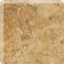 Daltile Heathland Amber 2 in. x 2 in. Glazed Ceramic Bullnose Corner Wall Tile