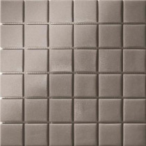 Elementz 12.5 in. x 12.5 in. Capri Grigio Dark Grip Glass Tile-DISCONTINUED