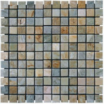 MS International Horizon 12 in. x 12 in. x 10 mm Tumbled Quartzite Mesh-Mounted Mosaic Tile (10 sq. ft. / case)