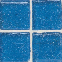 Daltile Sonterra Glass Crystal Blue 12 in. x 12 in. x 6 mm Glass Sheet Mounted Mosaic Wall Tile-DISCONTINUED