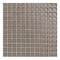 Daltile Maracas Wisteria 12 in. x 12 in. 8mm Glass Mesh-Mounted Mosaic Wall Tile (10 sq. ft. / case)-DISCONTINUED
