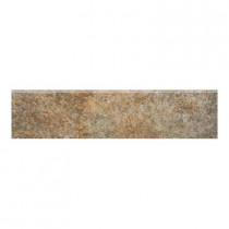 MARAZZI Granite 3 in. x 12 in. Marron Glazed Porcelain Floor and Wall Tile