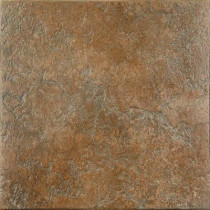 ELIANE Casper 18 in. x 18 in. Cotto Ceramic Floor Tile (15.28 sq. ft./Case)-DISCONTINUED