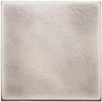 Weybridge 4 in. x 4 in. Cast Metal Field Brushed Nickel Tile (8 pieces / case) - Discontinued