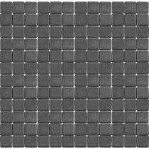 EPOCH Teaz Earl Grey-1202 Mosaic Recycled Glass 12 in. x 12 in. Mesh Mounted Floor & Wall Tile (5 sq. ft.)