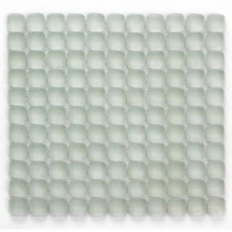 Solistone Pillow Glass Opalescent 12 In. x 12 In. x 9.5 mm Glass Mosaic Wall Tile (10 sq. ft. / Case)