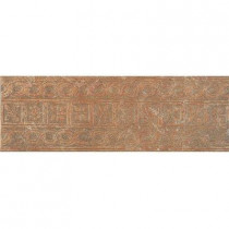 U.S. Ceramic Tile Craterlake Fuego 6 in. x 18 in. Glazed Porcelain Border Floor & Wall Tile-DISCONTINUED