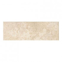 Daltile Alta Vista Desert Sand 3 in. x 12 in. Porcelain Surface Bullnose Floor and Wall Tile