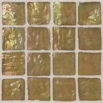 Daltile Egyptian Glass Sahara 12 in. x 12 in. x 6 mm Glass Face-Mounted Mosaic Wall Tile