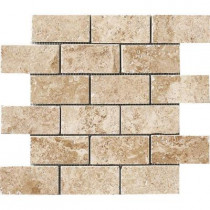 MARAZZI Montagna Cortina 12 in. x 12 in. Porcelain Brick-Joint Mosaic Floor and Wall Tile