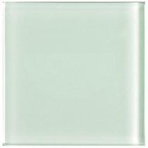 U.S. Ceramic Tile Glass White 4 in. x 4 in Wall Tile