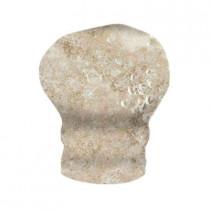 MARAZZI Artea Stone 1-1/4 in. x 2-1/4 in. Antico Porcelain Sink-Rail Corner Wall Tile-DISCONTINUED