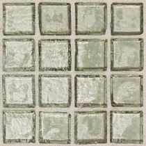 Daltile Egyptian Glass Sand 12 in. x 12 in. x 6 mm Glass Face-Mounted Mosaic Wall Tile