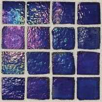 Daltile Egyptian Glass Lapis 12 in. x 12 in. x 6 mm Glass Face-Mounted Mosaic Wall Tile