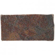 U.S. Ceramic Tile Stratford 3 in. x 6 in. Graphite Porcelain Floor and Wall Tile-DISCONTINUED